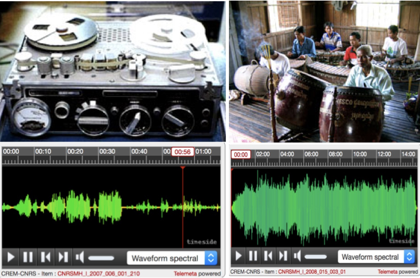 [Base de données] Archives sonores du CNRS – Musée de l'Homme