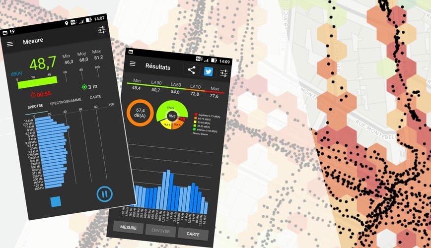 [Cartographie] [application] Cartographie participative de l'environnement sonore